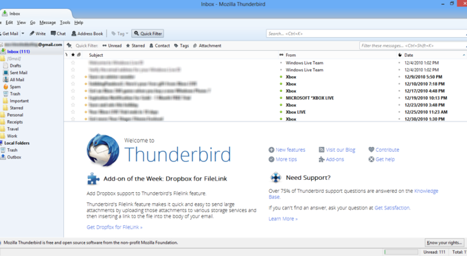 Thunderbird for Windows 10/8.1/7 PC Laptop or Mac Free Download